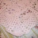 Handmade Crocheted Baby Blanket/Afg..
